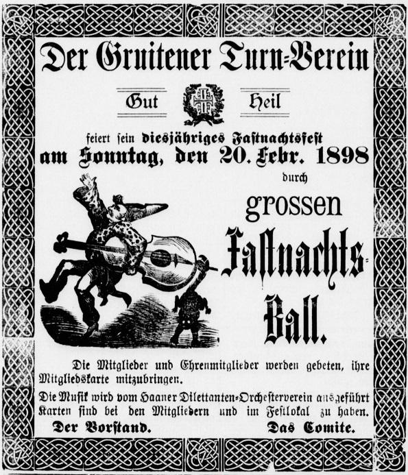 1898-02-17+19 HaanerVZ,GruitenerTurnvereinAnzeige,50%